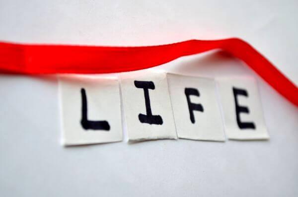 Life Red Ribbon photo
