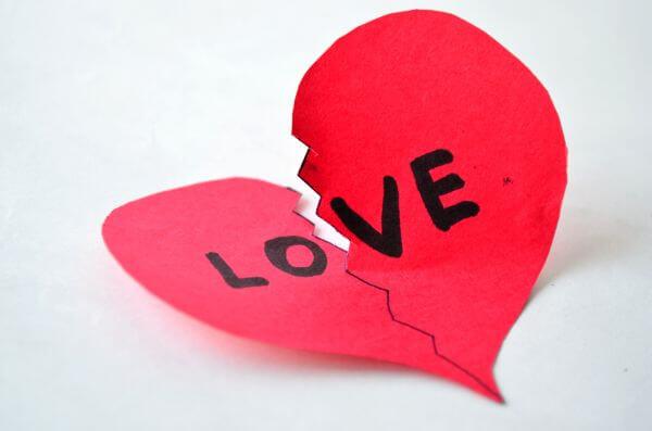 Love Breakup Divorce photo