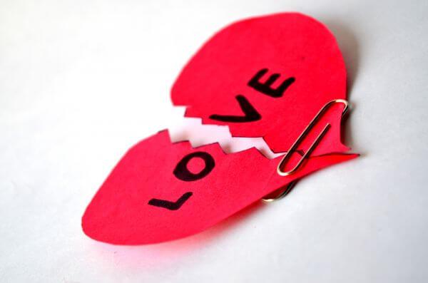 Love Broken Up Heart photo