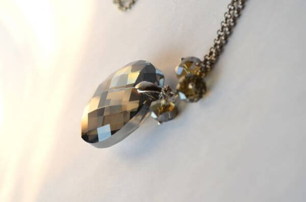 Necklace Crystal Pendant photo