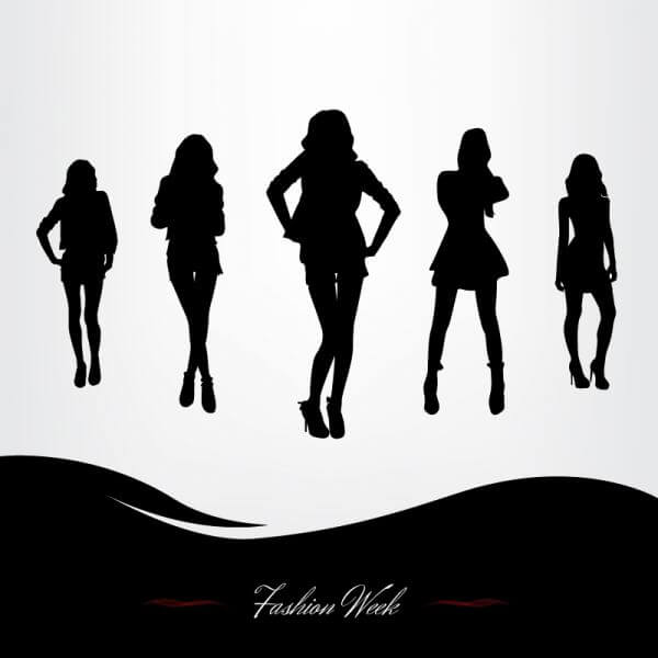 Fashion Week Illustration vector