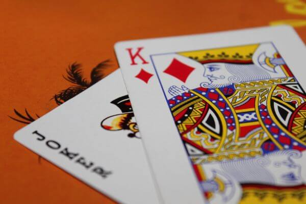 King And Joker Playing Cards photo