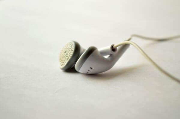White Headphones photo