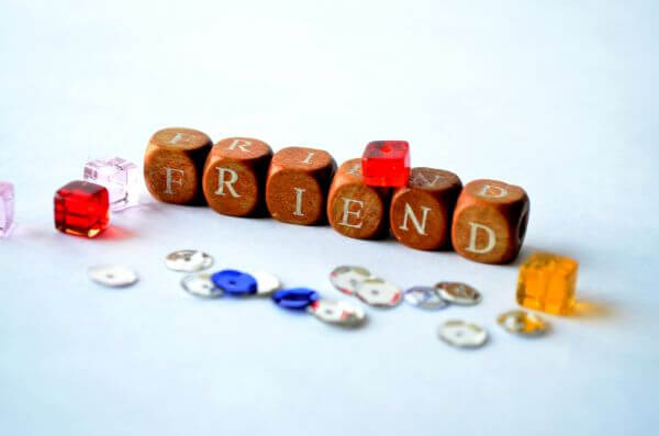 Wood Beads Friend photo