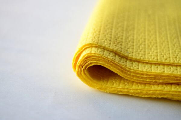 Yellow Tissue Papers 5 photo