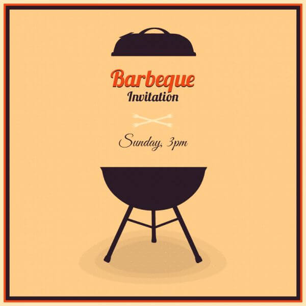 Barbecue Illustration vector