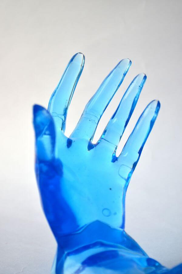 Blue Hands photo