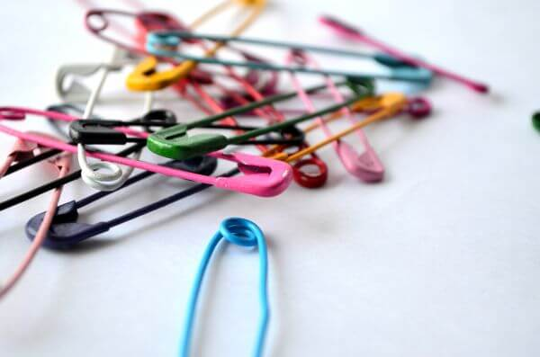 Colorful Pins 2 photo