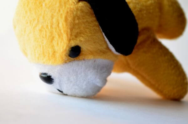 Cute Yellow Soft Toy photo