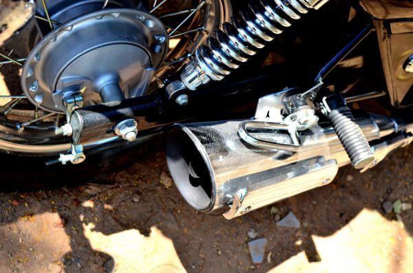 Motorcycle Exhaust photo