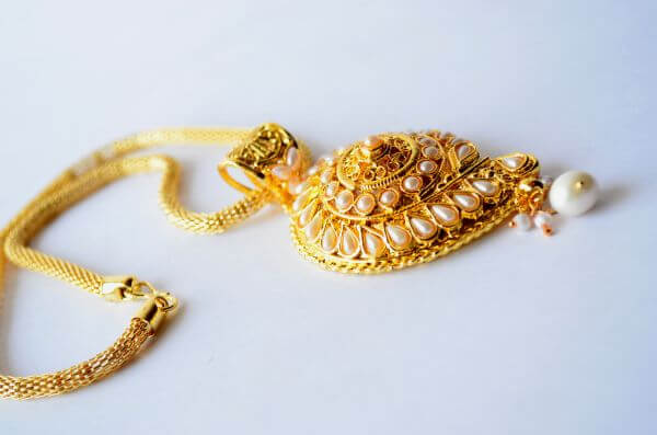 Necklace Gold Ornaments photo