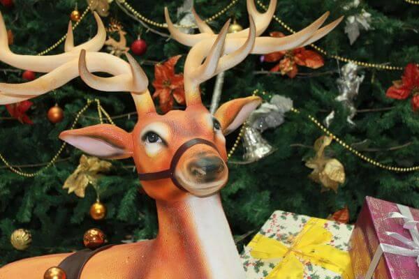 Reindeer Christmas Tree photo