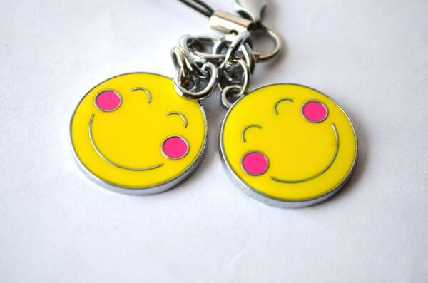 Two Couple Smileys photo