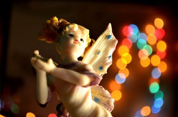 Angel Fairy Bokeh photo
