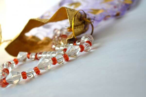 Bag Necklace Beads photo