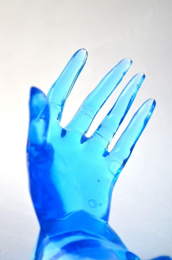 Blue Hands 1 photo
