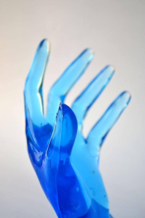 Blue Hands 3 photo