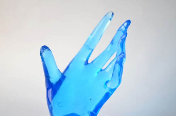 Blue Hands 4 photo