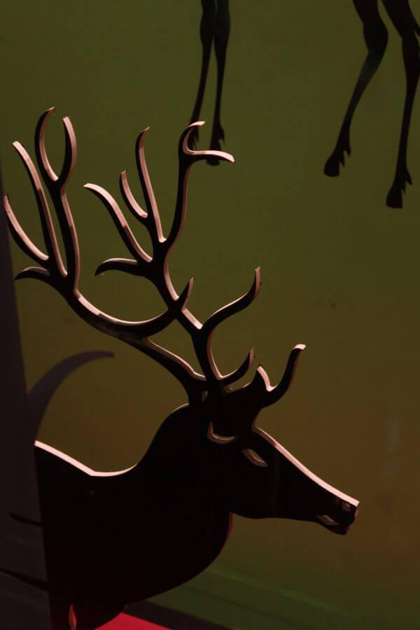 Reindeer Cutout Christmas photo
