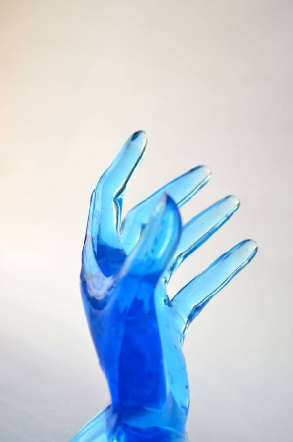 Blue Hands 5 photo