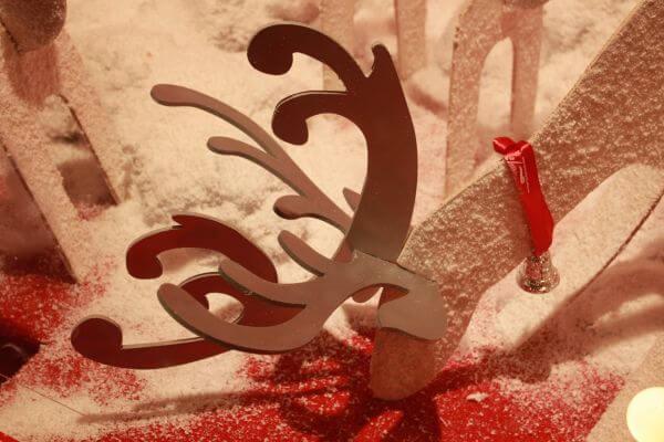 Reindeer Xmas Decoration photo