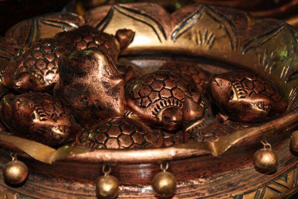 Tortoise Figures Feng Shui photo