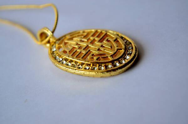 Gold Chain Pendant photo