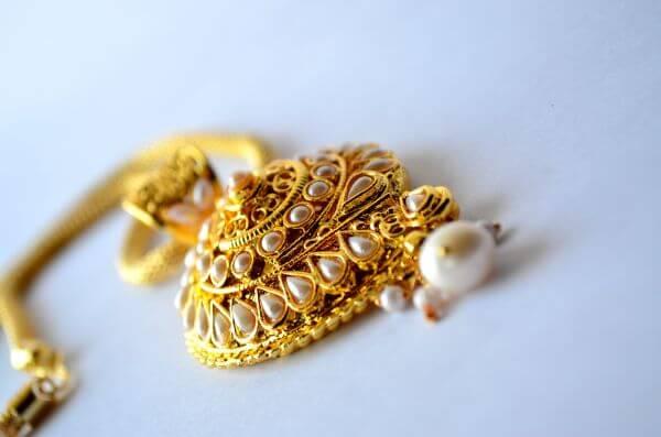 Gold Necklace Precious photo