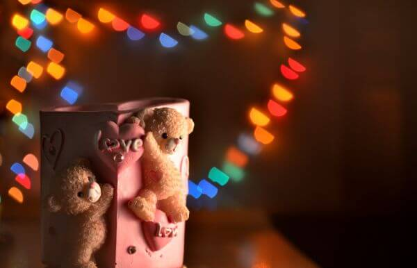 Love Bokeh photo