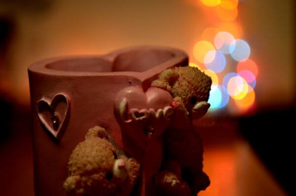 Love Teddy Bears Bokeh photo