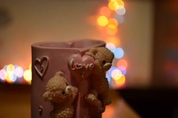 Teddy Bokeh photo