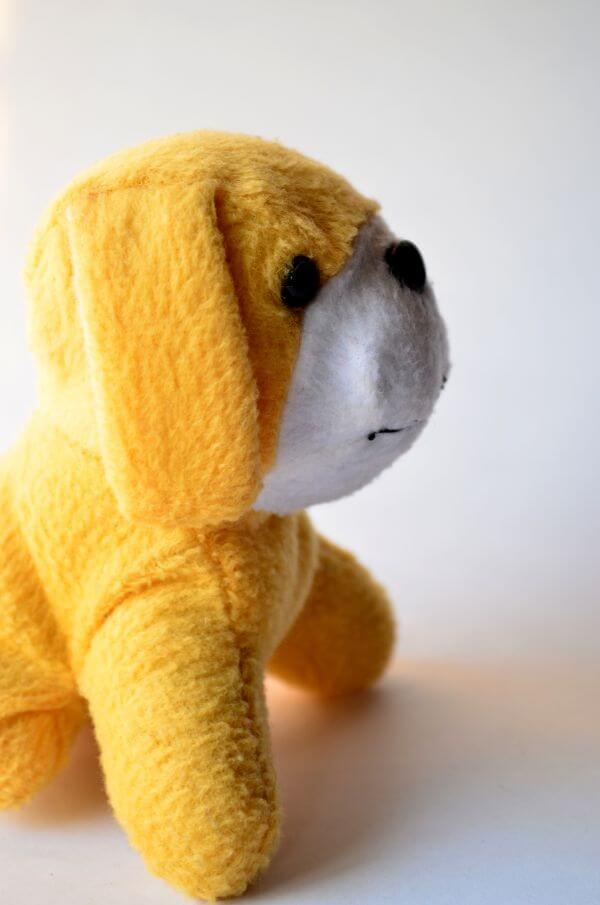 Yellow Cute Soft Toy photo
