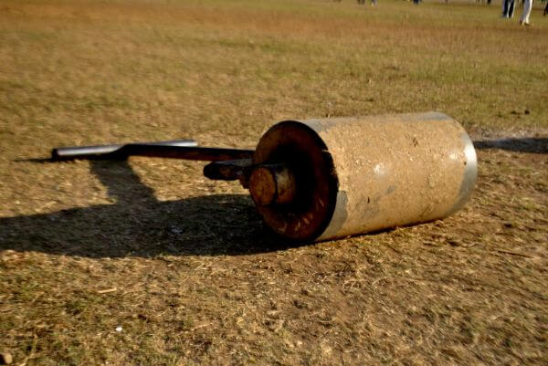 Cricket Pitch Roller photo
