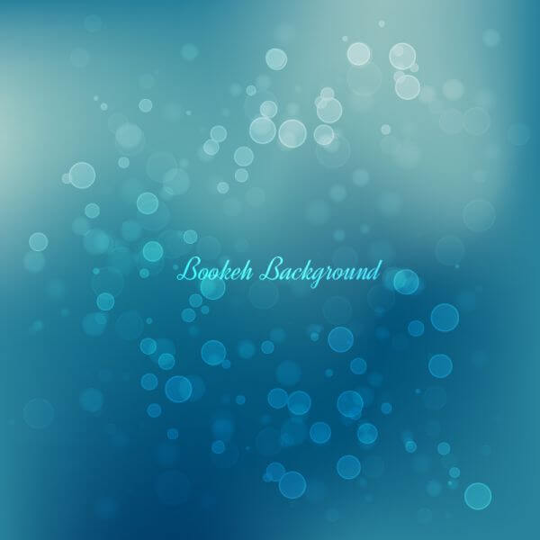 Bokeh Vector Background vector