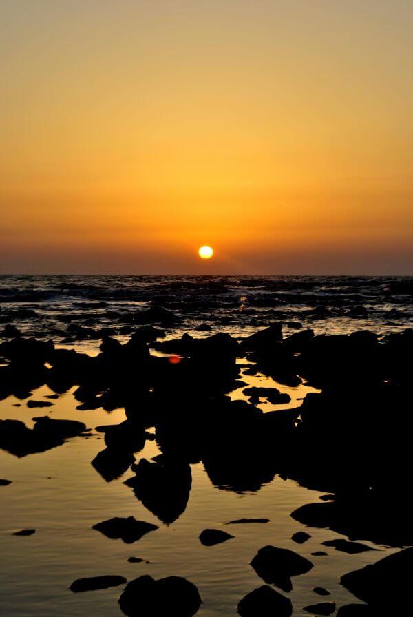 India Sunset photo