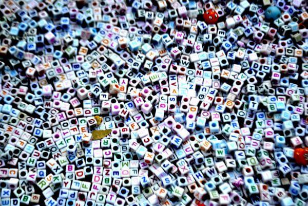 Letter Beads Tiny photo