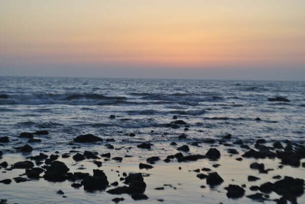 Sunset Waves Seashore photo