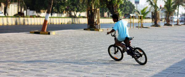 Kid Child Cycle Riding photo
