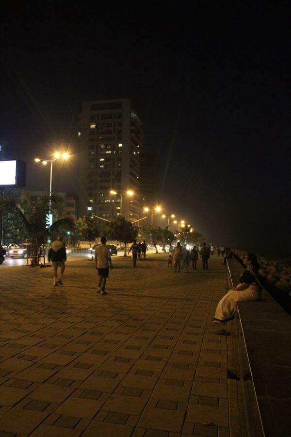 Night Street People Walking photo