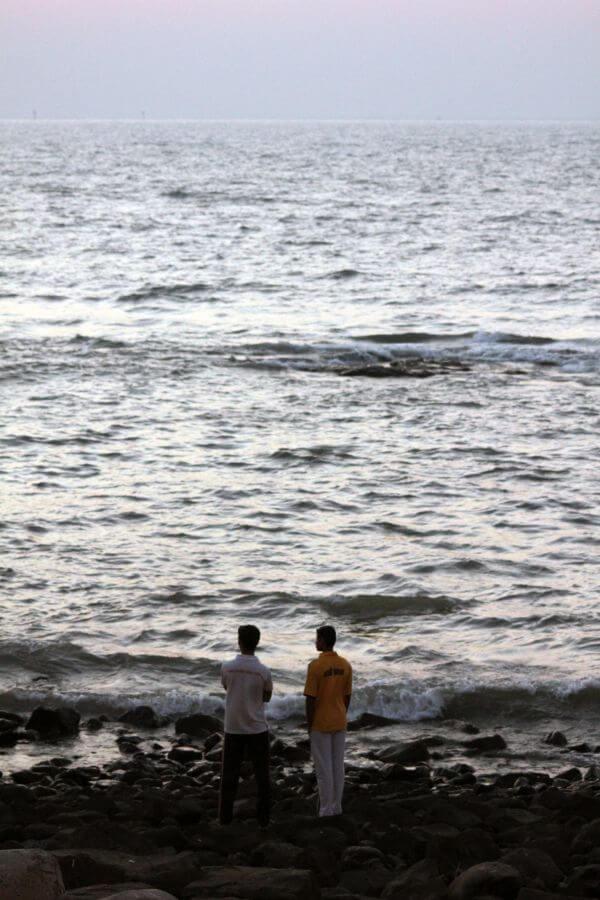 Two Friends Sea Shore photo