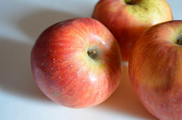 Three Red Apples photo