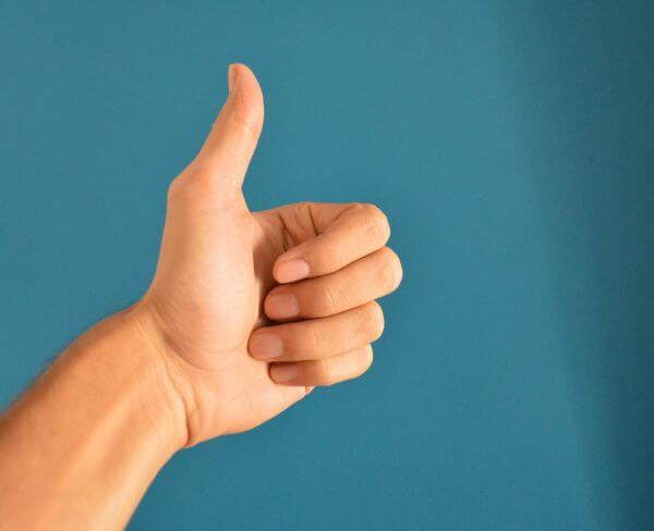 Thumbs Up Hand photo