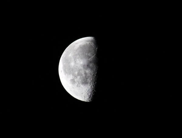 Moon Closeup photo