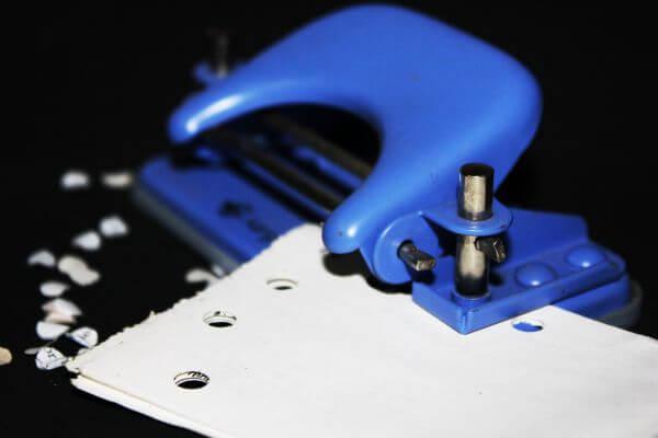 Paper Punching Machine photo
