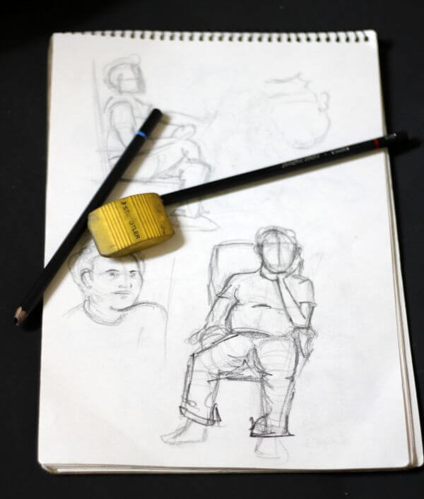 Portraits Sketching Practice photo
