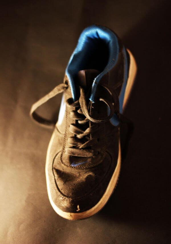 Single Shoe Sports Sneakers photo