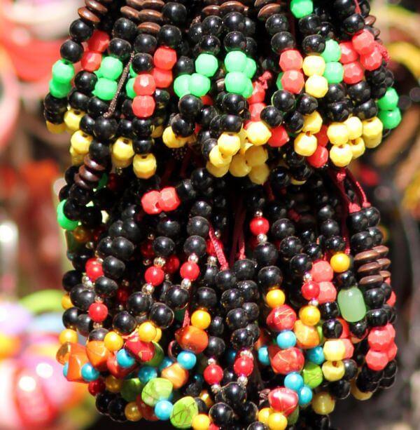 Street Vendor Beads photo
