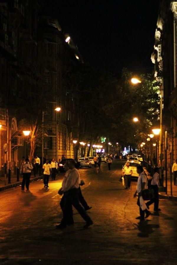 Streets Of Mumbai Night photo