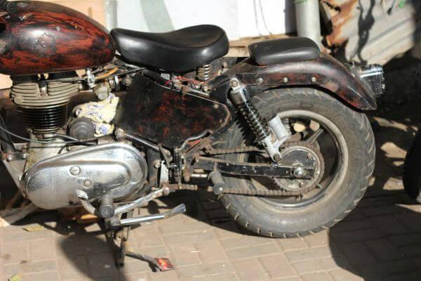 Old Bike 2 photo