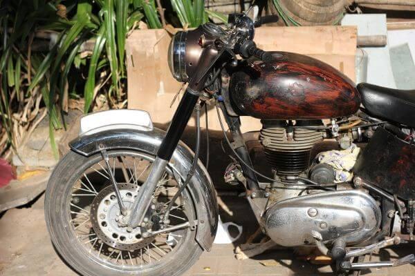 Old Bike 3 photo